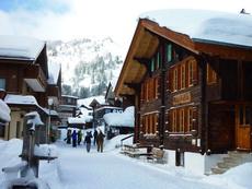 Chalet Fontana Muerren Switzerland Winter Season